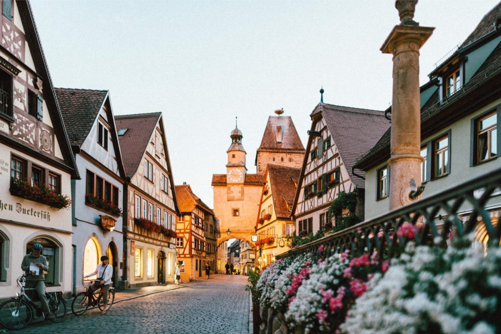 Sustainable traveling Germany